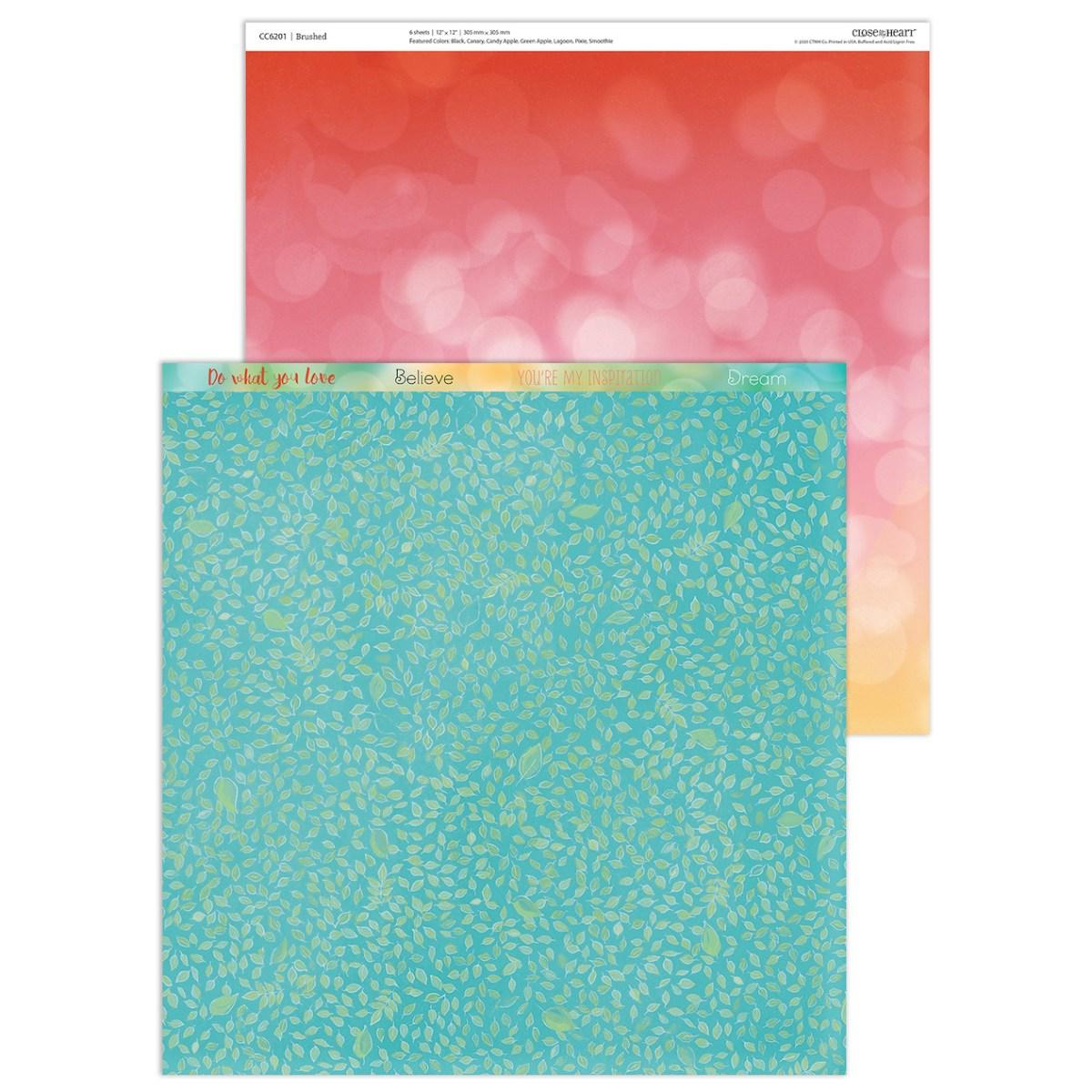 Brushed Paper Collection #closetomyheart #ctmh #ctmhbrushed #bringbackmypack #scrapbooking #cardmaking #papercrafting #crop #abuddingfriendship #yourownkindofwonderful #myacrylix #stamping