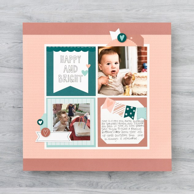 Moments like These #ctmh #closetomyheart #momentslikethese #cutabove #scrapbookingkit #calendarkit #scrapbooking #memorykeeping #happyandbright
