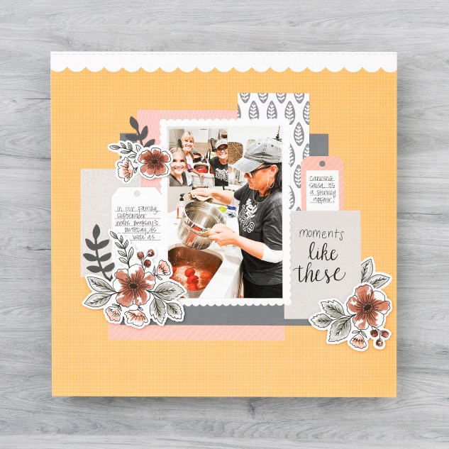 Moments like These #ctmh #closetomyheart #momentslikethese #cutabove #scrapbookingkit #calendarkit #scrapbooking #memorykeeping