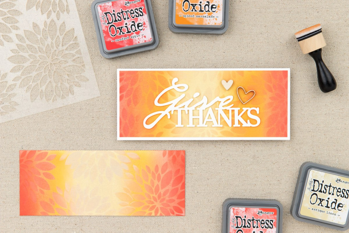 Distress Oxide™ Ink Techniques #ctmh #closetomyheart #distressoxideinks #distressoxidetechniques #cardmaking #scrapbooking #papercrafting