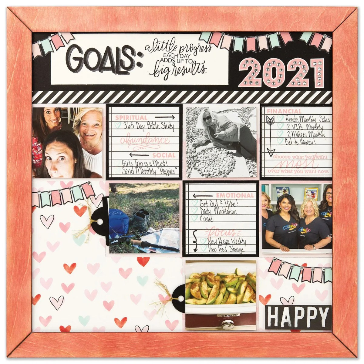 Vision Boards for Intentional Living #ctmh #closetomyheart #ctmhhomesweethome #visionboards #goals #inspiration #newyeargoals #spiritualgoals #financialgoals #emotionalgoals #focus #makeithappen