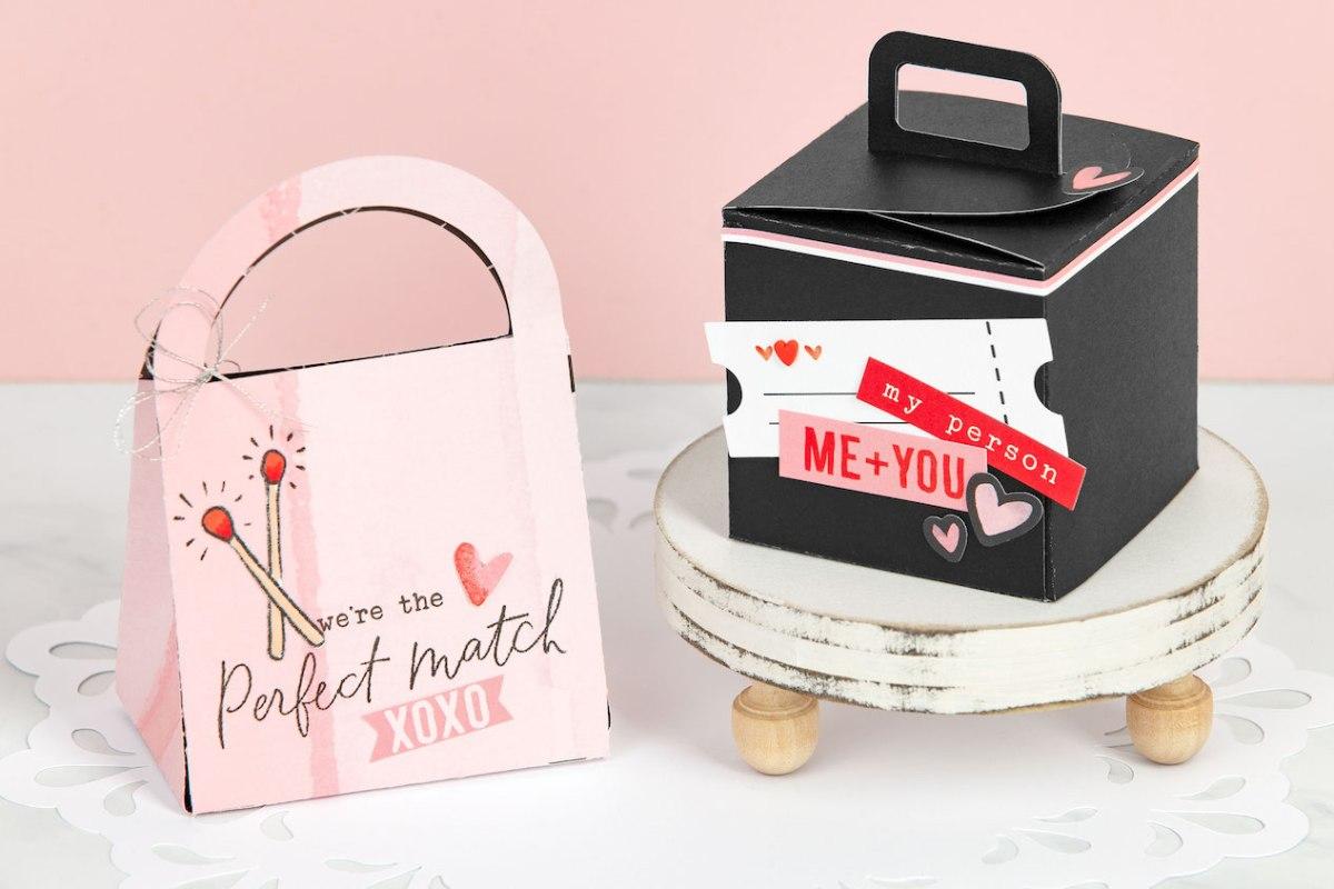 DIY Gift Boxes #closetomyheart #ctmh #ctmhperfectmatch #perfectmatch #valentine #giftboxes #diygift #diygiftboxes #diyvalentine #papercrafting #cricut #cricutartiste #cricutartphilosophy