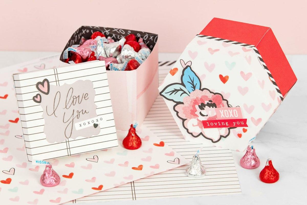 DIY Gift Boxes #closetomyheart #ctmh #ctmhperfectmatch #perfectmatch #valentine #giftboxes #diygift #diygiftboxes #diyvalentine #papercrafting #cricut #cricutartiste