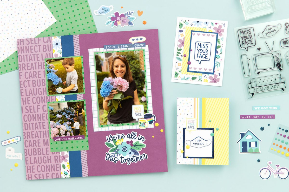 In This Together #ctmh #closetomyheart #scrapbooking #cardmaking #pandemiccards #pandemiccardmaking #pandemicpapercrafting #pandemicpapercrafts #pandemicscrapbooking #pandemicscrapbook #covidscrapbooking #covidscrapbook #covidcardmaking #covidcards #covidpapercrafting #covidpapercraft #missyourface #quarantine #stayhome