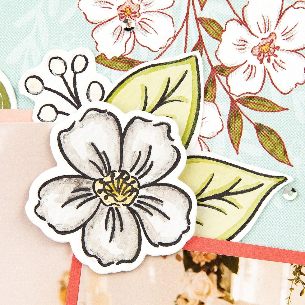 Watercolor Techniques #closetomyheart #ctmh #ctmhdaisymeadows #watercolor #watercolour #waterbrush #watercolorpencils #watercolourpencils #watercolortechniques #watercolourtechniques #scrapbooking #cardmaking