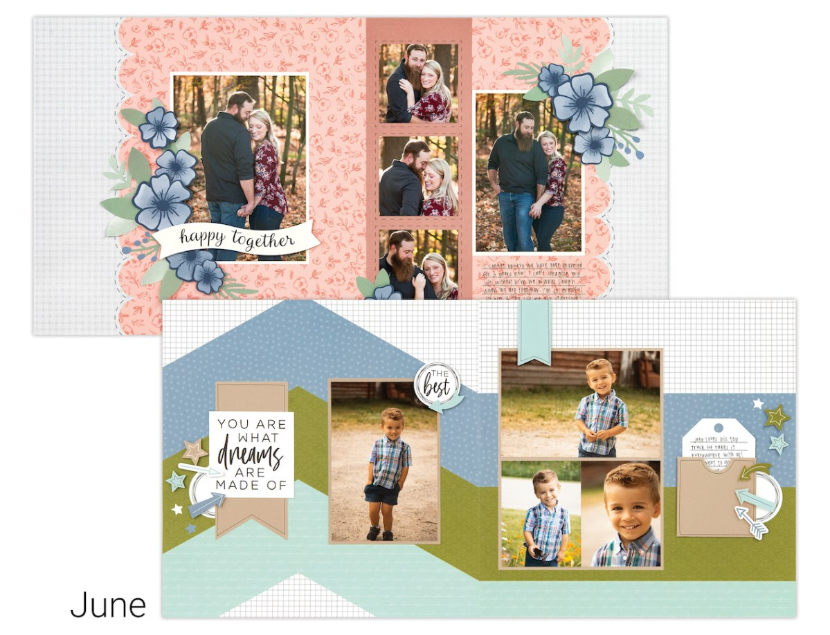 Scrapbooking In Minutes #closetomyheart #ctmh #craftwithheart #cutabove #scrapbooking #ontheroad