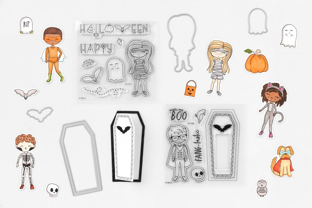Papercrafting Treats for Halloween #closetomyheart #ctmh #ctmhboocrew #boocrew #halloweencrafts #diytreats #papercrafting #scrapbooking #memorykeeping #halloweentreat #treatcontainer #treatpod #Halloweenbuddies #Halloweenbesties