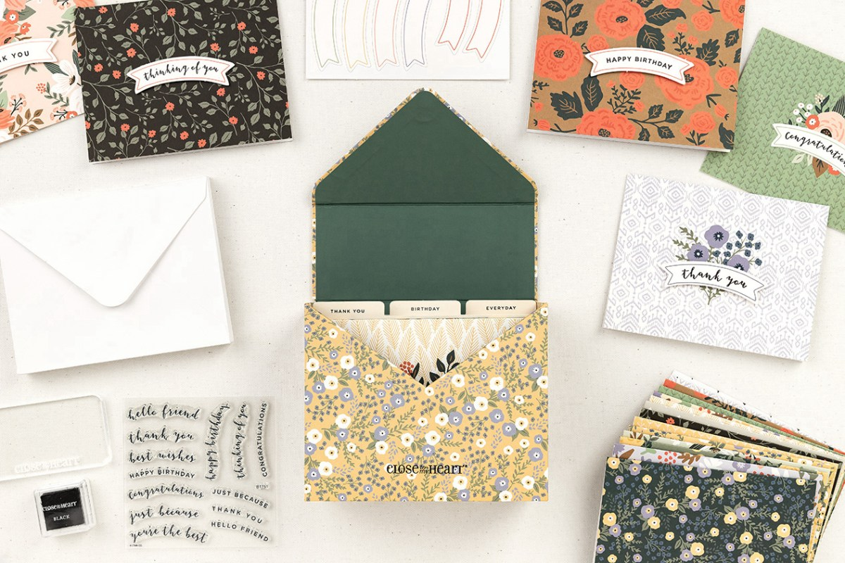 Cards In Minutes #closetomyheart #ctmh #ctmhvip #diycards #easydiycards #cardmaking #cardworkshop #cardkit