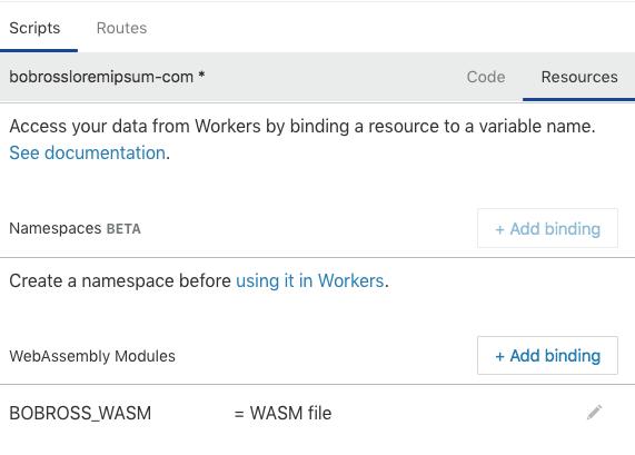 Rust WASM upload
