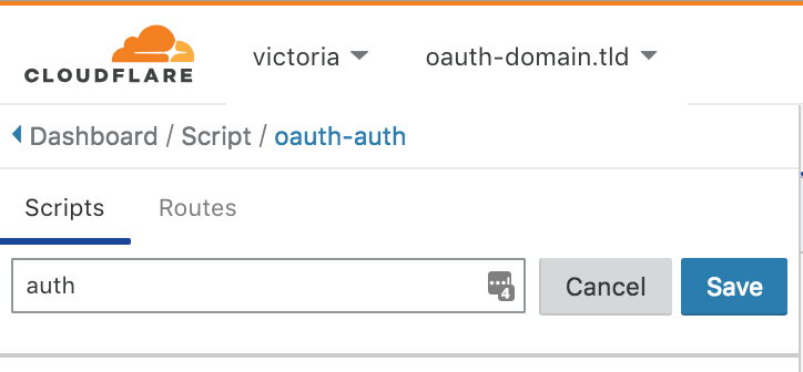 OAuth Auth Server through Workers