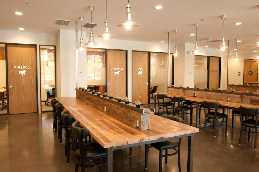 8 coworking spaces to check out in san francisco for Reclaimed wood flooring san francisco