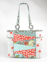 Florida gem tote a bag makeover inspiration by nancy zieman clover welcome to my fourth installment in clovers bag makeovers series this time with the trace n create bag templatesflorida tote collection gets a makeover maxwellsz