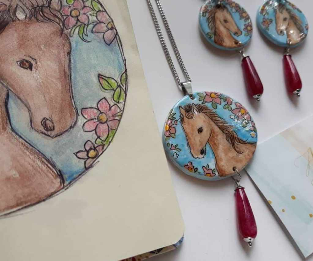 Hand-Painted Jewels Collection