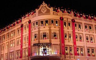 Natal do Palácio Avenida em Curitiba, PR – um dos mais famosos do Brasil