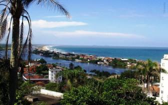 Encante-se com a bela vista de Barra Velha, em Santa Catarina
