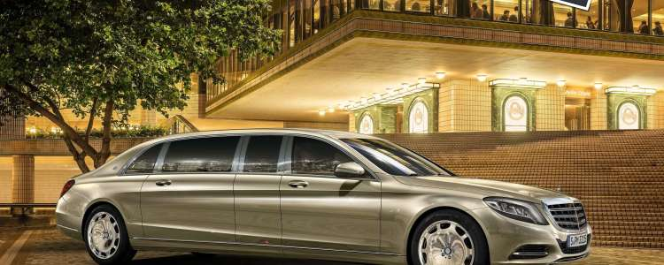 The Mercedes-Benz Maybach S600 Pullman 2016