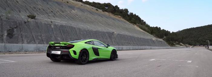 McLaren 675LT in Green