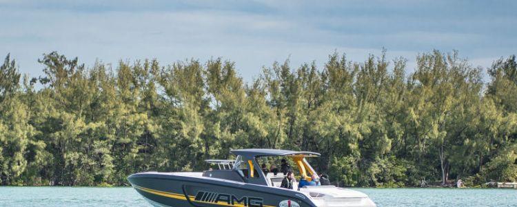 AMG speed boat