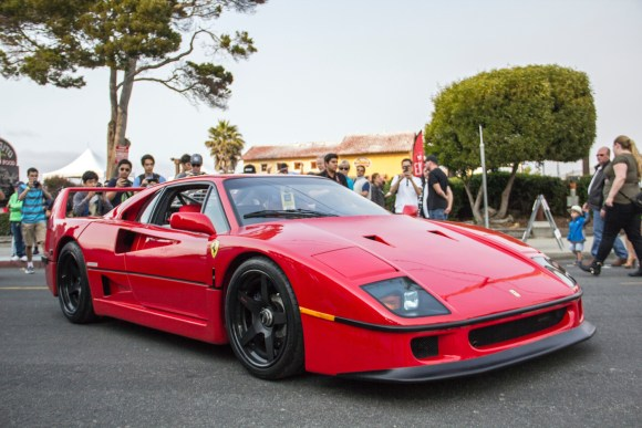 Ferrari F40 on HRE wheels