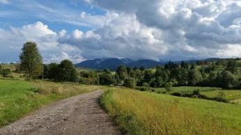 Pe drum către Ferma Vidra