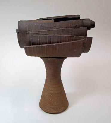 Harvey Littleton, untitled clay sculpture, 1955–1957 (courtesy Littleton family).