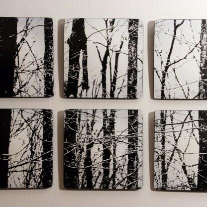 Winter Woods by Moshe Bursuker