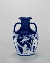 Replica of the Portland Vase, Red House Glass Works, John Northwood, and Philip Pargeter, Wordsley, England