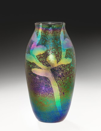 Vase, Tiffany Glass and Decorating Company, about 1895–1896