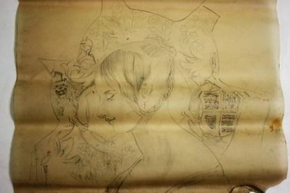 Sketch of Queen Victoria