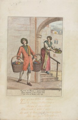 Mi porto da Muran, Gaetano Zompini, ca. 1750-1778