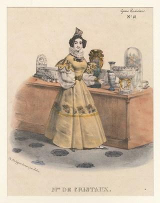Madame de Cristaux, Barthélemy-Louis Mendouze, ca. 1835