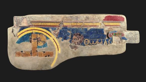 Fragment of Panel with Apostle Thomas