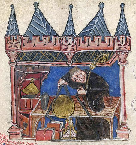 Richard of Wallingford, Abbot of St. Albans