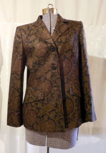 Corset and Jacket project - jacket