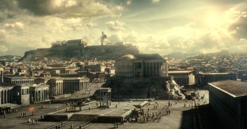 Athens as depicted in 300: Rise of an Empire