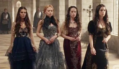Ladies in Waiting from Reign