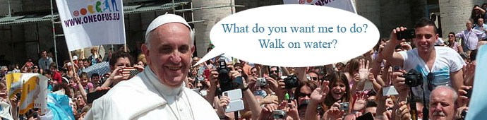 Pope Francis Being Perplexed