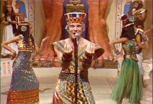 Steve Martin Dressed as King Tut
