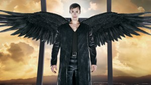 Archangel Michael with wings