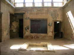 Remains of wealthy home in Herculaneum