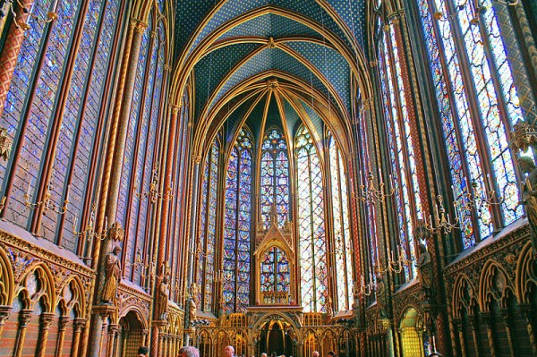 Sainte Chapelle, gothic architecture