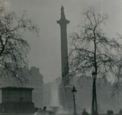 The Great Smog of 1952, London.