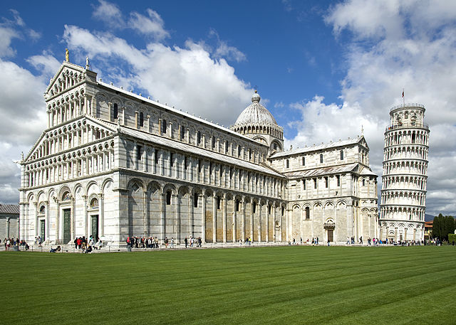 Pisa Cathedarl, including the Leaning Tower of Pisa