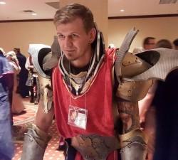 LARPer in armor, Game of Thrones, Gen Con 2015