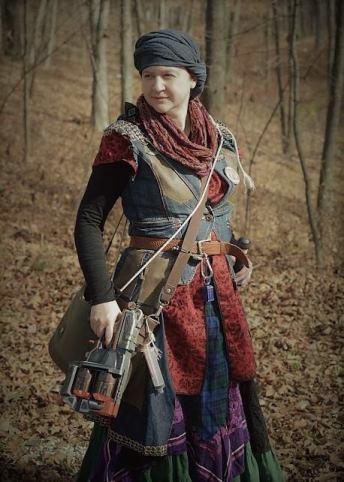 Cassie as Aurora Vex