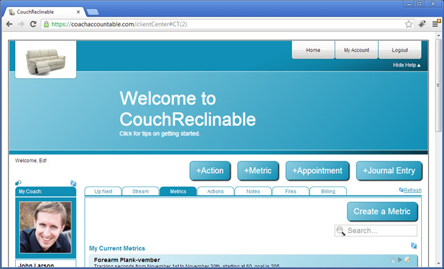 Welcome to CouchReclinable