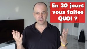 COACHING David KOMSI : Vidéo 20 - En 30 jours vous faites quoi ?