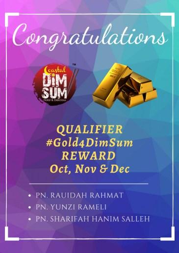 Reward Gold4DimSum 2019