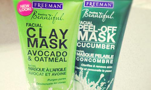 Freeman Feeling Beautiful Peel-Off and Clay Facial Masks