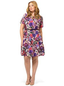 spruce-and-sage-baroque-floral-fit-and-flare-dress